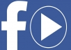 I will Provide 100.000 Facebook Video Views