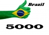 drive 5000 Brazil human real Traffic with extras