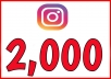 give you 2000 instagram. followers