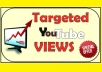 provide 400 Targeted YouTube Views