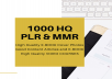 Give you 1 000 plr eBooks, Articles, videos for marketing