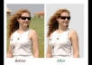do photoshop editing, remove or change background professionally any 2 image for