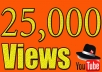 Add 25000 High retention Real Human Youtube views