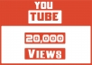 Add 20,000+ YouTube Views 100% Non Drop Guaranteed & Good For Ranking