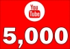 Give 5,000 High  Retention YouTube Views