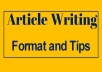 do article , blog and contant writing