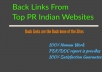do 50 High PR web directories submissions to your Site/Blog