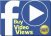 Give you 2000 High Quality Facebook Video Views