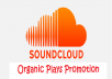 promote your sound cloud track plays to 20K-30K audience