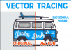 Logo, icon, tracing, Vector Tracing In Your Logo Or Image, Convert To Vector Trace
