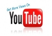 Give You High Quality 1,500+YOU TUBE views