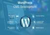 Install wordpress for any platform like windows or linux.