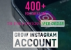 Manage and Grow Instagram Account with Targeted Followers