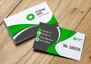design business card and stationary
