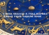 create a full report about your zodiac sign