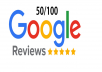give you 2 permanent google review in 12 hours