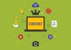 write technical content for tech blogs and websites for
