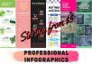 create a professional infographic