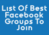 give you list Of 1,200+ Highly Targeted FaceBook Advertising Groups