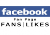 Add 1050 Real Facebook fan Page Likes for