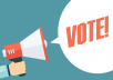 Give You SUPER FAST- 300 Online Contest Votes Your Contest Polls Entry for for