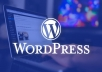 I will solve all types of wordpress issues