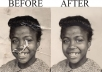 Do Any Photo Restoration, Photo Editing And Photo Retouch