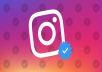 Instagram verification for public figures through Facebook media portal.