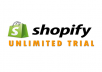 create unlimited free trial shopify no credit card needed