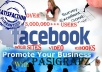 promote anything on my Facebook fan page with more than 57,500 genuine fans