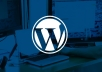 Do you need WordPress website?You are looking a WordPress expert?So you are at right gig.