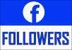 Add 4000 Facebook NON drop Followers
