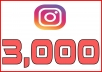 Provide 3,000+ Instagram Followers