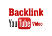 Build 10+ high quality backlinks to your youtube video for SEO rankings