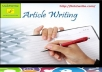 write 1000 words profesional seo friendly article, blogs posts and website content