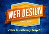 I am a professional website designer. I also provide you with content writing during the design + Logo. I design any kind of website; Basic informative websites, company websites, business websites, organisation websites, eCommerce websites. etc. Getting a website for that your project and business is the best way to sky rocket your vision especially now the world is deeply going digital. Tech is the obvious. We deliver in 48 hours and assure you a top notch service with free 1 month management.