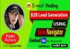 do b2b lead generation and targeted email finding list prospecting