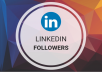 Add 350+ LinkedIn Followers Real High Quality & Non Drop Guaranteed