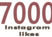 provide 7000 instagram post likes