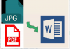 do Image to text convert,I will do type text from jpg image or pdf into doc
