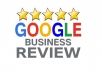 Write 10 Google Reviews For Your Website