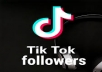 2000 TIKTOK followers HQ
