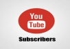 INSTANT START All Subscriber Real human & Active Risk free about YouTube Adsense Non-drop subscribers. Extra bonus YouTube subscribers. Promote Your YouTube channel. YouTube subscribers are 100% genuine and YouTube subscribers very high quality. Cheap offer for you.  No bots used. Faithful work.  Deliver before the deadline. Works procedure 100% Right way. PLACE ORDER NOW