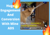 create facebook video ads and dropshipping product ads