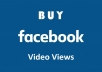 deliver 2000 Facebook Video Views