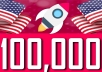 Drive 100,000 USA visitors from social media
