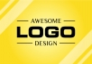 We are offering a complete solution for Logo Design for your business, start up, product or even just personal blog. No other Fiverr Seller here that can offer a SERVICE with UNLIMITED REVISION and 24 HOURS TURNAROUND TIME So if you need any Professional Logo Design, then you are at the right place  Why choose us ?  5200+ Satisfied Customer so far are the proof Fast Response Time on Revisions and Inquiry 100% Money Back Guarantee Unique Design based on your need, no clipart or template 24/7 friendly customer support service One Solution for all your needs  Package Details :  BASIC 3 Unique Professional and Modern Logo Up to 3 times revision, HD output and Free Source File One copyright of the logo you choose  STANDARD (RECOMMENDED) 4 Unique Professional and Modern Design (recommended) everything listed on Basic Package plus unlimited revisions more effort on doing the logo designs 2 copyrights  PREMIUM (COMPLETE PACKAGE) 5 Unique Professional and Modern Design (can include advanced /co