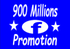 Promote your Any Link To 900 Facebook Millions Active Groups Members