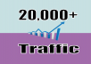 Provide 20,000 Web Traffic Visitors Worldwide