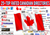 add ca business in top canada directory and local citations